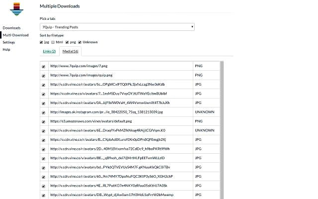 Fruumo Download Manager, extensión Chrome para gestionar descargas
