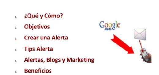 Guía en español que nos enseña como sacar provecho a Google Alerts