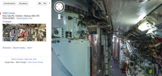 HMS Ocelot, Street View nos invita a ver el interior de un submarino