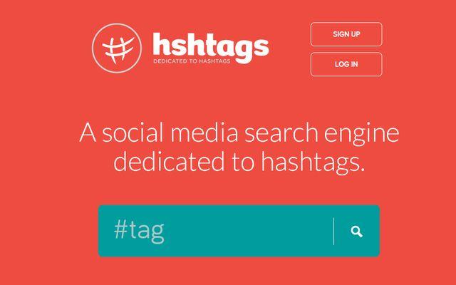 Hshtags, buscador de hashtags en varias redes sociales