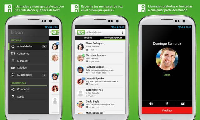Libon, aplicación de mensajería móvil con mensajes de voz y llamadas VoIP