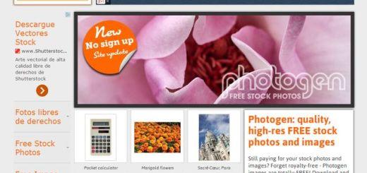 Photogen, impresionante colección de imágenes libres para descarga