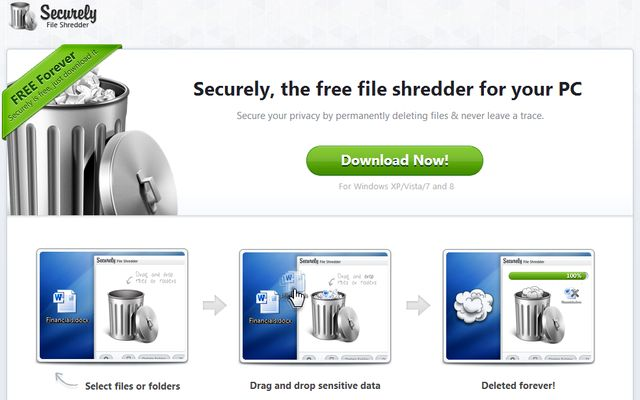 Securely Securely, software gratuito para borrado seguro de archivos y carpetas