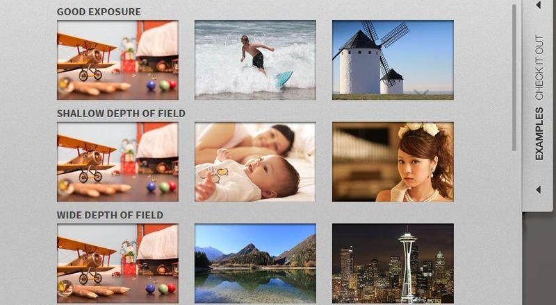 Simulador fotográfico de Canon para practicar fotografía