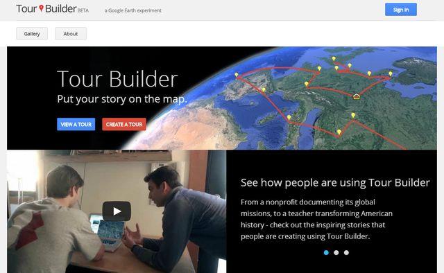Tour Builder, nueva herramienta para contar nuestros viajes con Google Earth