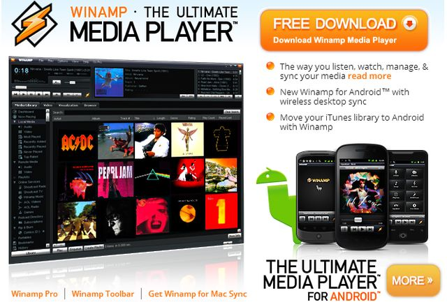 Radionomy compra Winamp y las emisoras de Shoutcast