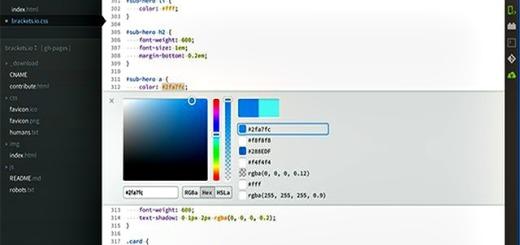Brackets: editor de código para HTML, CSS y JavaScript