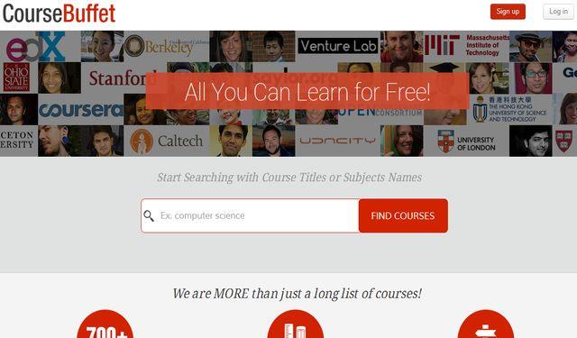 CourseBuffet, potente buscador de MOOCs gratuitos