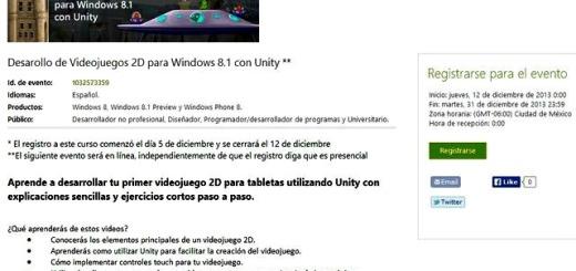 Curso gratuito de Microsoft para crear juegos con Unity