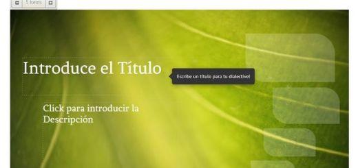 Dialective, utilidad web gratuita para crear presentaciones fácilmente