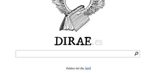 Dirae, diccionario para encontrar palabras buscando la definición