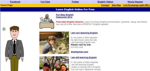Fun Easy English, una forma divertida de aprender inglés