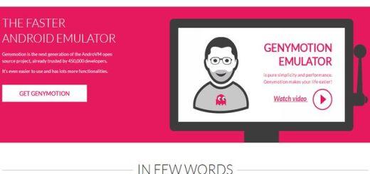 GenyMotion, un emulador para Android gratuito y multiplataforma