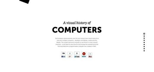 Una infografía para conocer la historia de los ordenadores