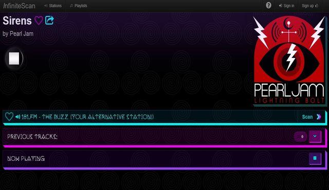 InfiniteScan, más de 3000 emisoras musicales para escuchar online