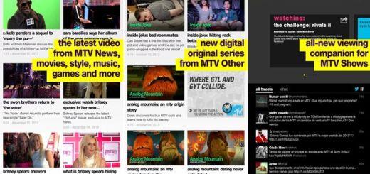 MTV lanza su aplicación oficial para dispositivos Android