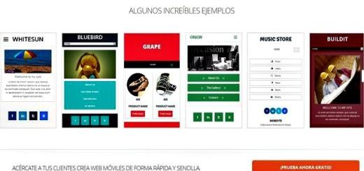 Mobsyte, crea tu web móvil de forma sencilla y rápida