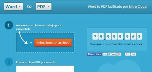 Nitro Cloud, convierte documentos de Office a PDF y viceversa