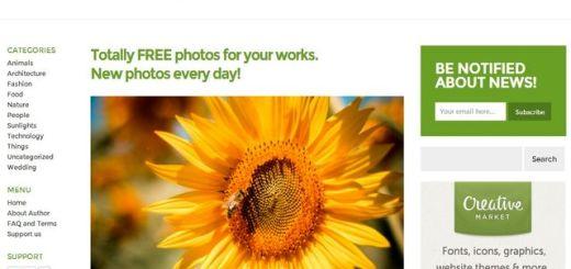Picjumbo, banco de imágenes gratuitas para cualquier uso