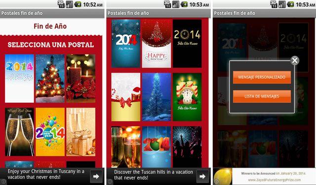 Postales y frases divertidas de Nochevieja para WhatsApp (Android)