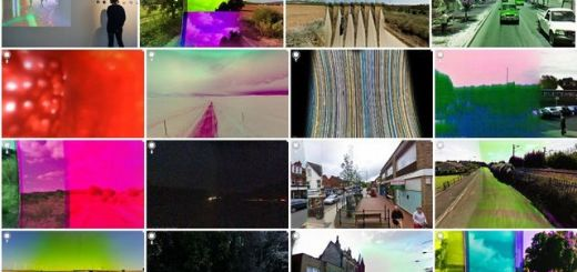 Una galería online con imágenes defectuosas de Street View