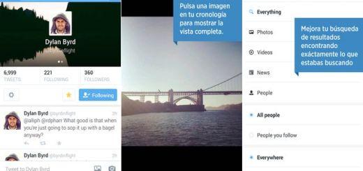 Actualización de Twitter, para Android e iOS, con fotos en los DM