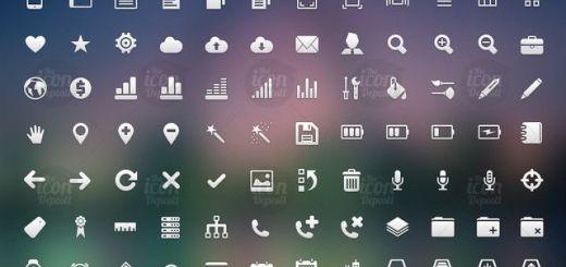 Crisp Icon Set: descarga este pack con más de un centenar de iconos libres