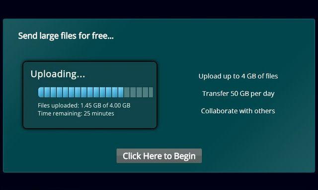 FileBuck, envía gratis archivos de hasta 4 Gb