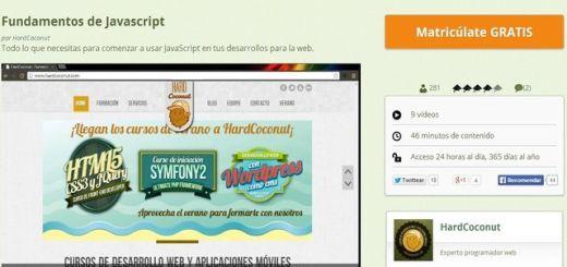 Fundamentos de Javascript, curso gratuito para seguir online