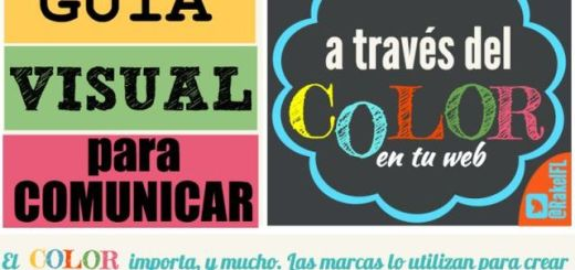 Guía visual para usar los colores apropiados en tu web (infografía)