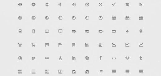 Iconos variados