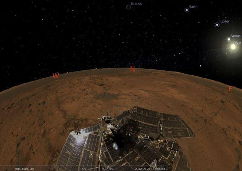 Stellarium: extraordinario planetario gratuito y multiplataforma
