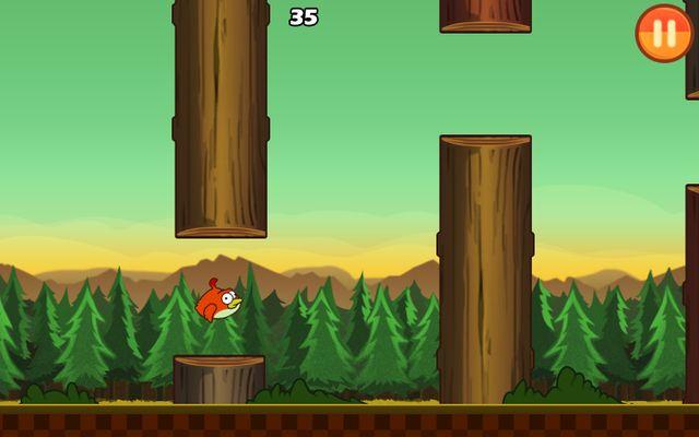 Clumsy Bird, clon de Flappy Bird para los que añoran el juego (Android)