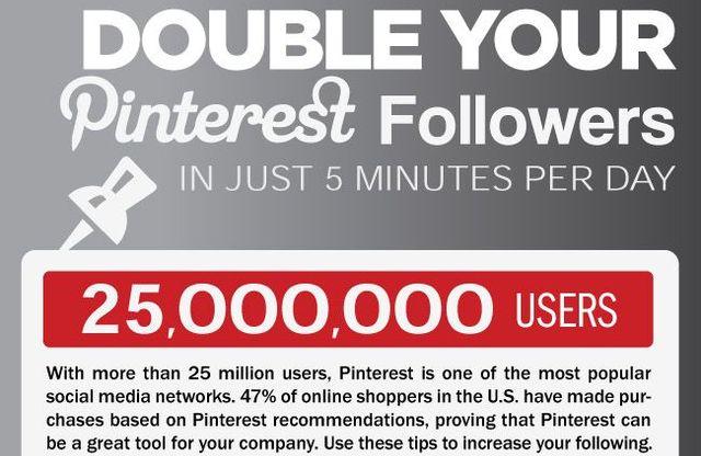 Duplicar followers Pinterest