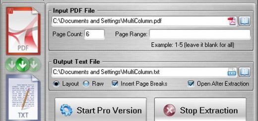 FM PDF Text Extractor Free