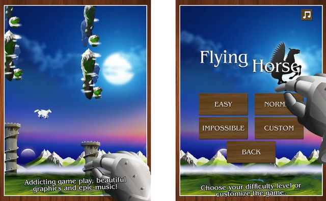 Flying Horse, alternativa a Flappy Bird que puedes configurar (Android)
