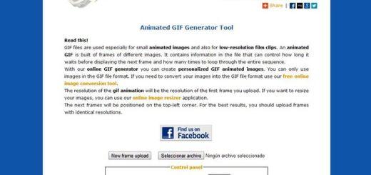 Image-Tools: utilidad web para crear gifs animados, convertir imágenes y más