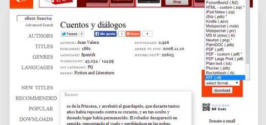 ManyBooks, una página con más de 30000 ebooks libres para descargar