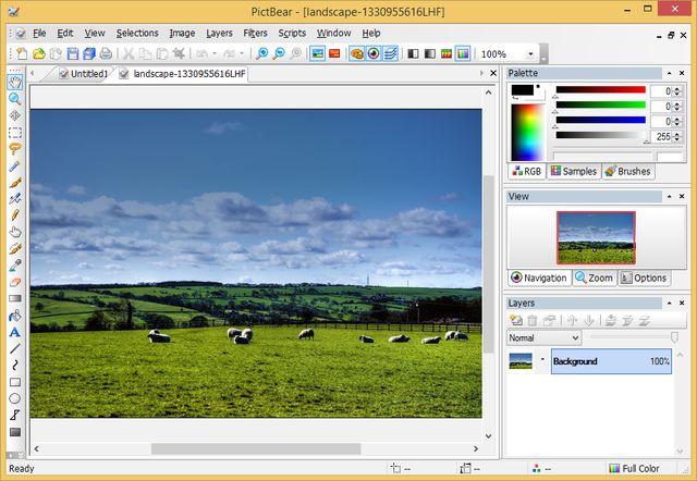 PictBear, software gratuito para dibujo y edición de imágenes