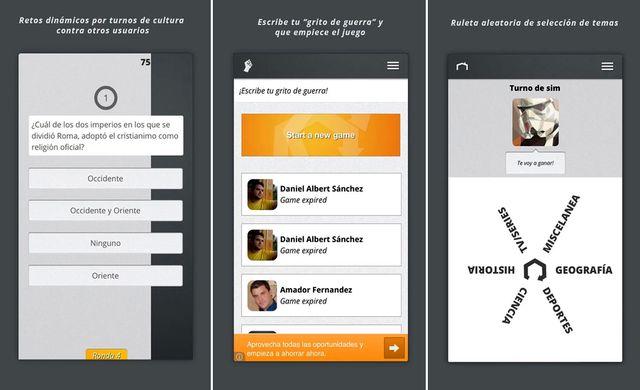 Quizr, juego de preguntas y respuestas multijugador para Android e iOS