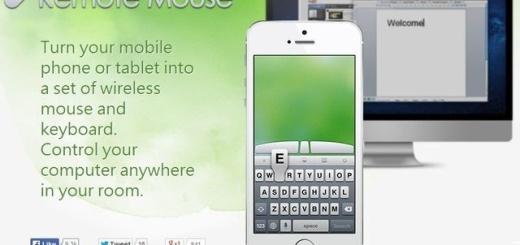 Remote Mouse, transforma tu tablet o móvil en teclado y ratón inalámbricos