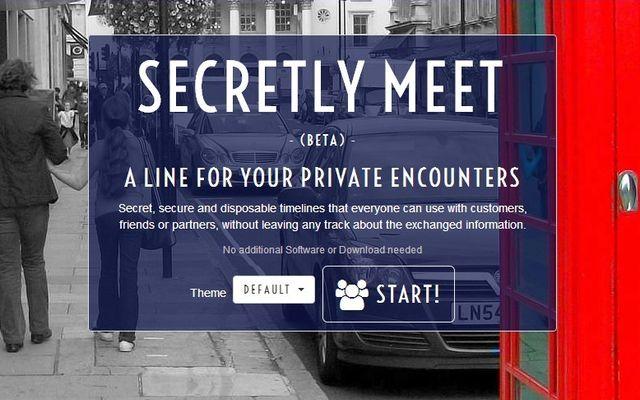 SecretlyMeet, crea una web temporal que se elimina cuando cierras el navegador