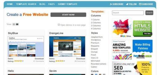 BTemplates, una gran colección de plantillas gratuitas para Blogger
