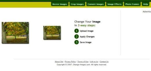 Change Images, excelente utilidad web gratuita para editar tus fotos