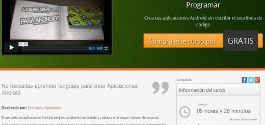Curso gratis para aprender a crear aplicaciones Android con App Inventor