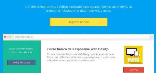 DevCode, sitio en español con cursos gratis para aprender a programar