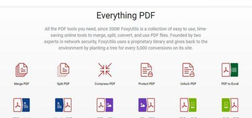FoxyUtils: 12 utilidades web gratuitas para trabajar con documentos PDF