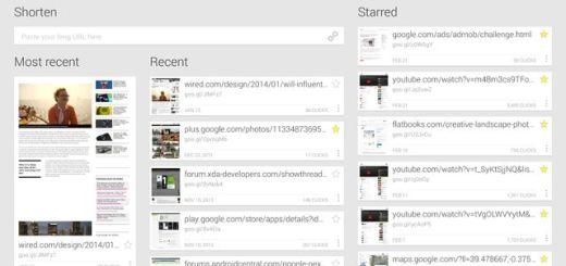 Google URL Shortener, excelente acortador de urls para tu Android
