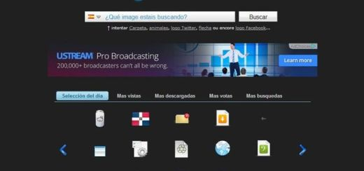 Icones, buscador de iconos con más de 20000 gráficos para descargar