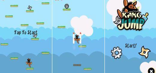 Kang Jump, divertido juego de plataformas para dispositivos Android